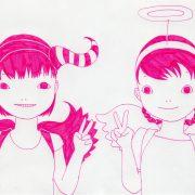 「天使と悪魔 その1」