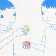 「レモンと桃」