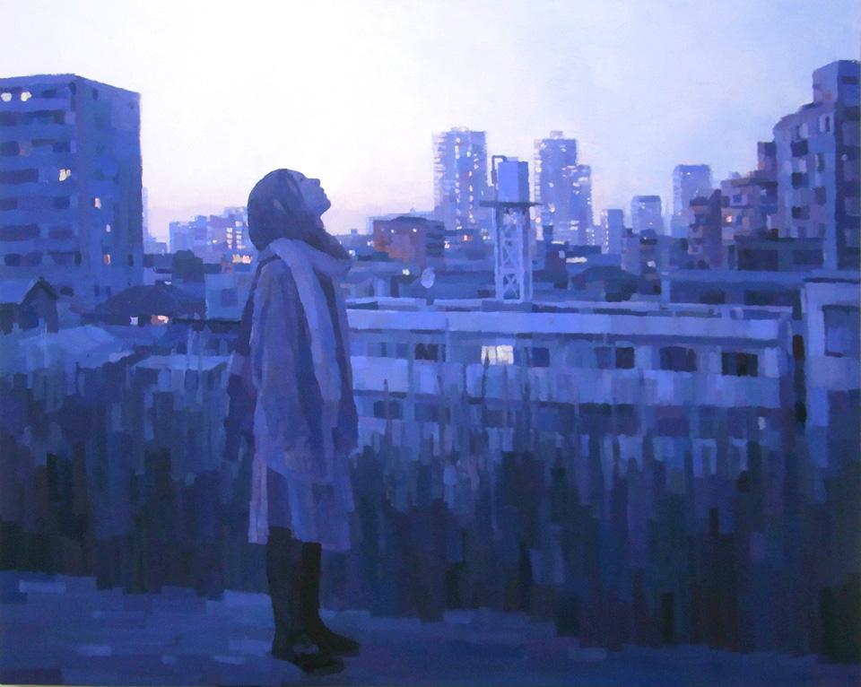 「明日」/ ''Tomorrow'', 2011,  acrylic on canvas