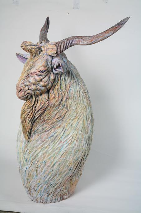 「桃源郷」 / ''fairyland'', 2008,wood based sculpture