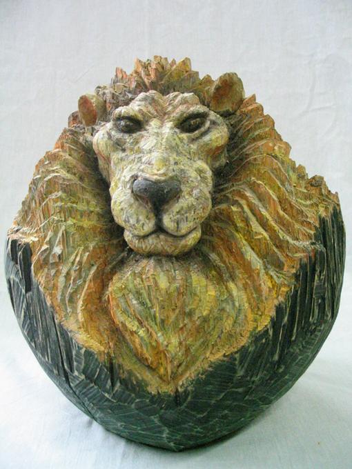 「日だまり」/ ''a sunny spot'', 2006, wood based sculpture