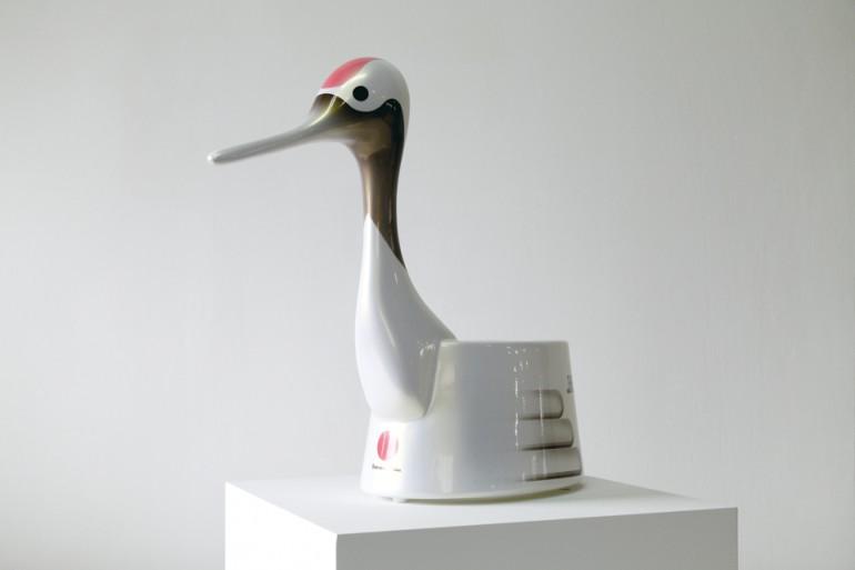 「情操教育シリーズ ボトムレスオマル」/ ''Education in good taste series Bottomless Omaru'', 2008, FRP based sculpture