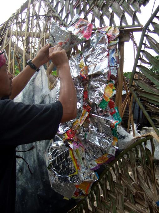 「ジョグジャカルタのアロワナ」/ ''Yogyakarta's arowana'', 2008,working process2