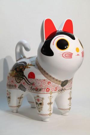 「犬張り子 [ Occupied Japan ]」/ ''Inu Hariko [ Occupied Japan ]'', 2012, FRP based sculpture