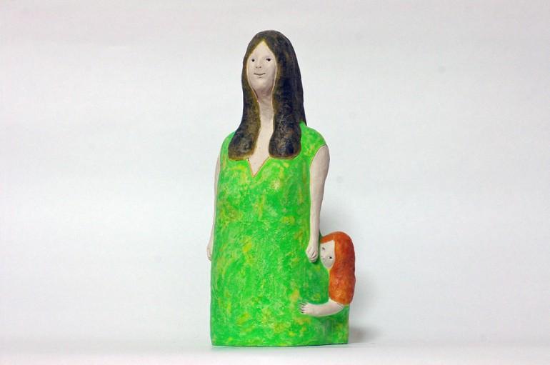 """""""BIG MAMA"""", 2012, ceramic based sculpture"""