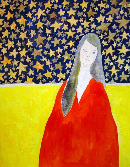 "「星屑」/ ""stardust"", 2011, acrylic on canvas"