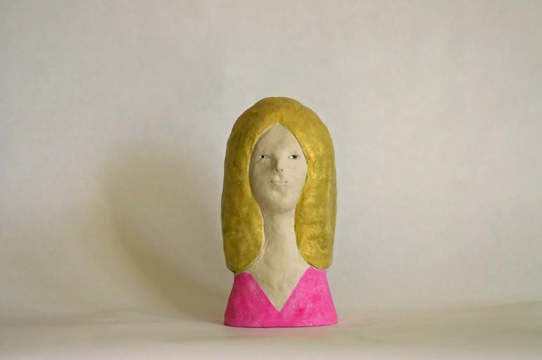"""「女」/ """"a woman"""", 2011, ceramic based sculpture"""