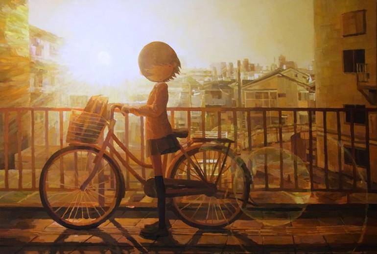 ''Stay'', 2014, acrylic on canvas