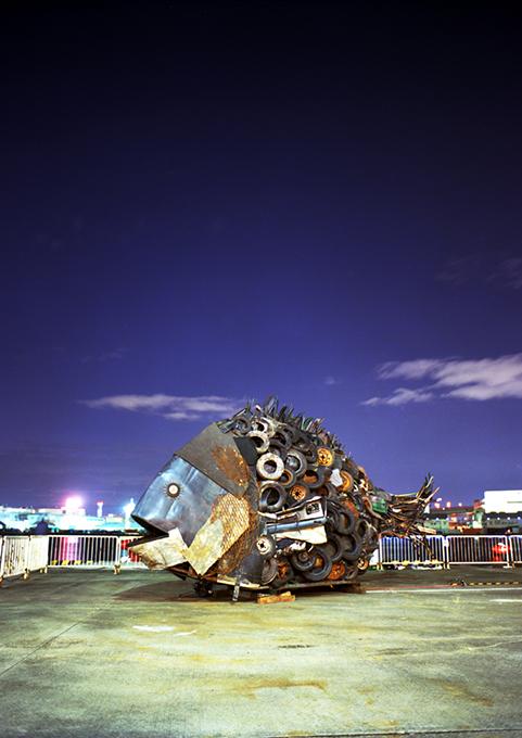「大阪湾のチヌ」/ ''Chinu, Osaka Bay'', 2007, garbage based sculpture