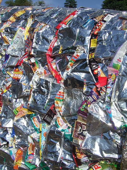 「ジョグジャカルタのアロワナ」 部分/ ''Yogyakarta's arowana'' detail, 2008, garbage based sculpture
