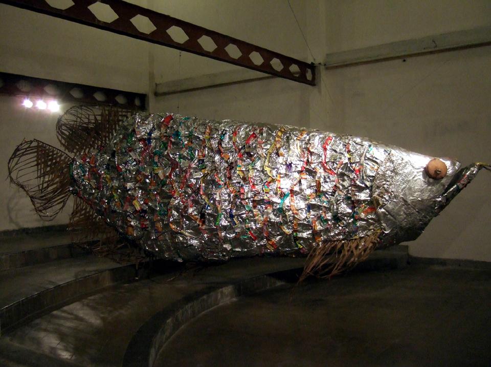 「ジョグジャカルタのアロワナ」/ ''Yogyakarta's arowana'', 2008, installation view