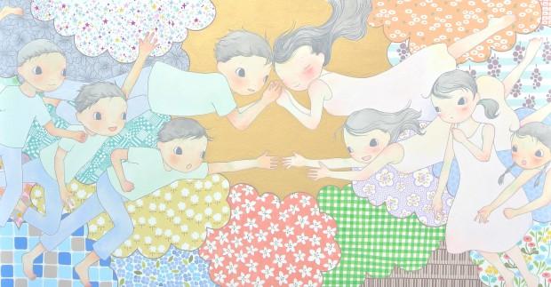 aa1_light 藤永結「桜と新緑の頃に」展、出品作品のご紹介 | YUKARI ART YU