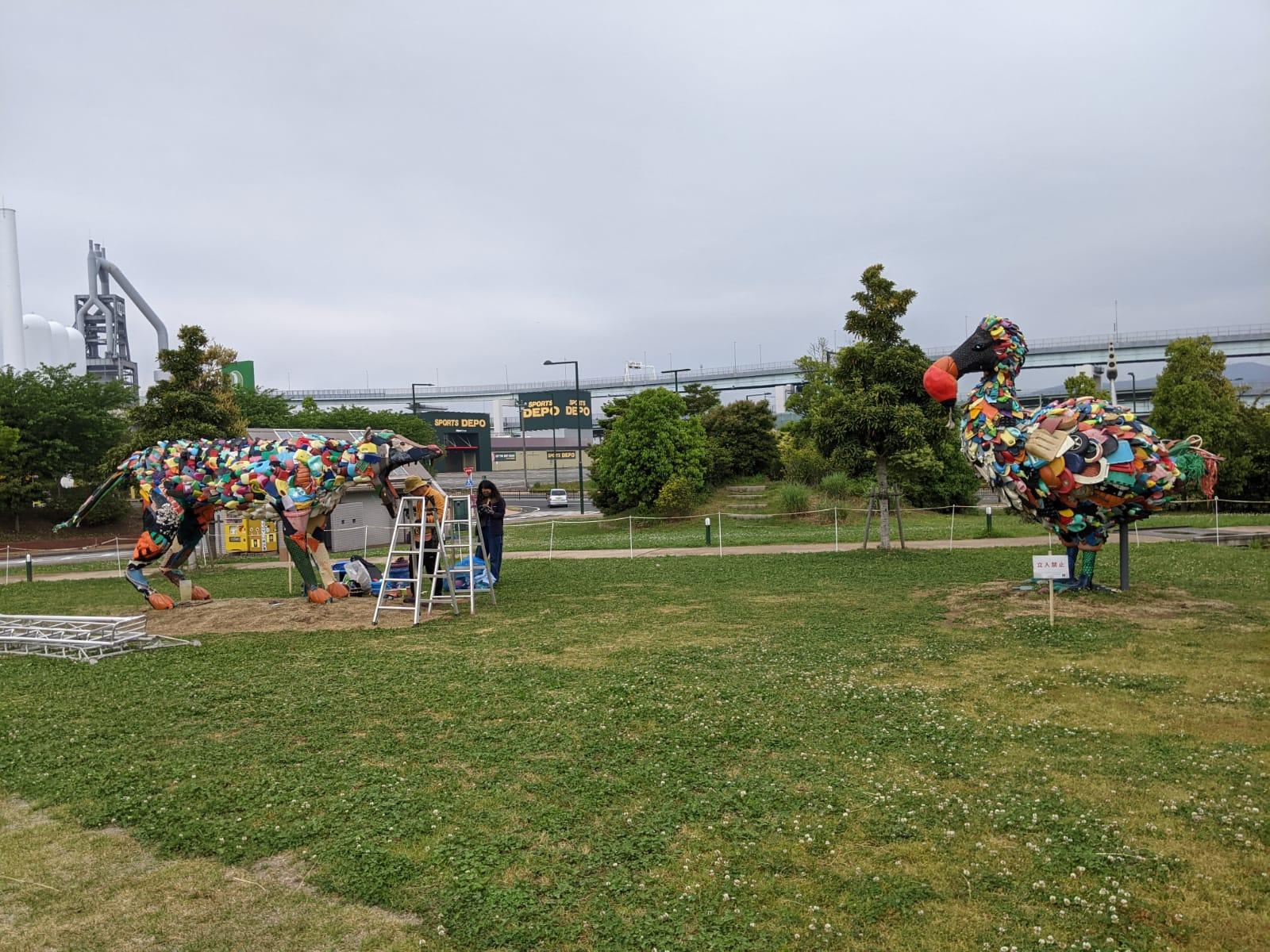 淀川テクニック、最新のパブリックアート作品が完成!『北九州未来創造芸術祭 Art for SDGs』