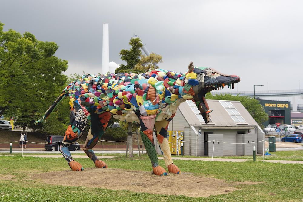 "Yodogawa Technique's latest public artworks in ""Art for SDGs Kitakyushu"""